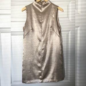 A - Line Liquid Gold Mini Dress - Forever 21